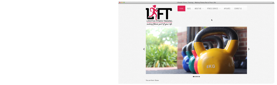 Lifestyle Fitness Training screenshot