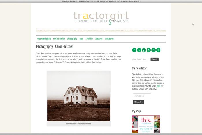 Tractor Girl Screenshot