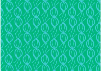 Blue blossom pattern