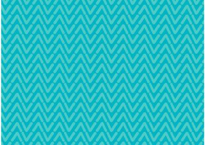 Blue vee pattern