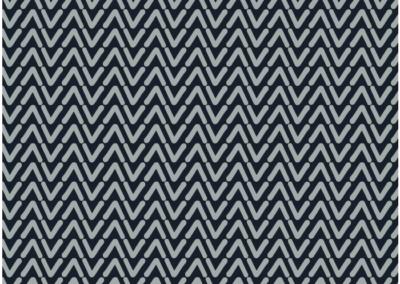 Grey vee pattern