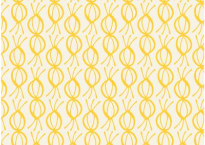 Yellow blossom pattern